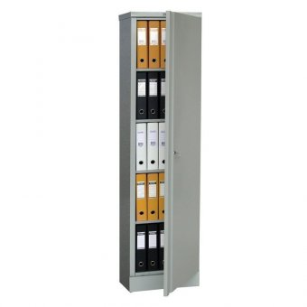 Шкаф металлический офисный ПРАКТИК AM-1845, 1830х472х458 мм, 30 кг, разборный