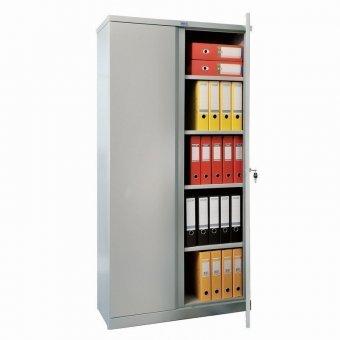 Шкаф металлический офисный ПРАКТИК M-18, 1830х915х370 мм, 45 кг, разборный