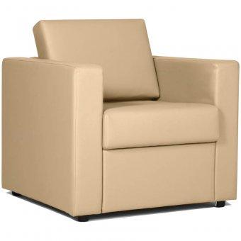 Кресло для отдыха Симпл, обивка terra 101 светлый беж