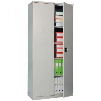 Шкаф металлический офисный СВ-14, 1860х850х500, серый