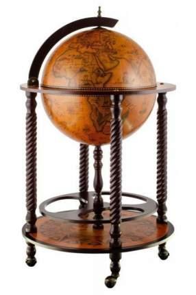 Напольный глобус бар JUFENG, d=45 см
