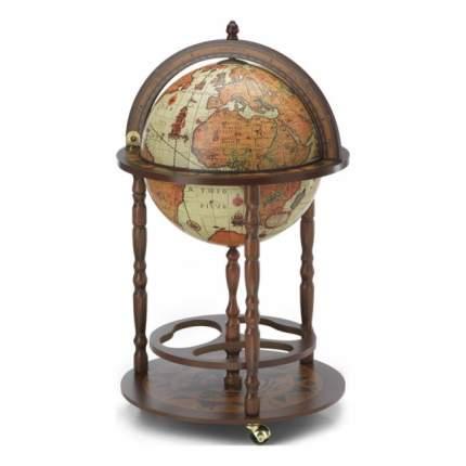 Глобус-бар напольный Юнона, d=40, 50х86 см