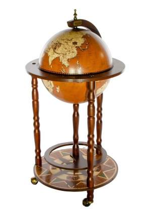 Глобус-бар напольный Ptolemaeus d=33 см, 44х88 см