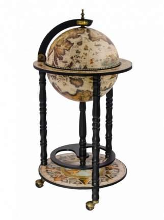 Глобус-бар напольный Мореплаватели Ptolemaeus d=33 см, 44х86 см