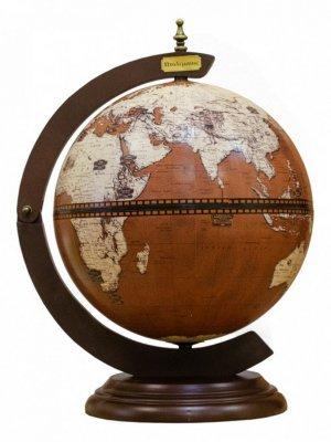Глобус-бар настольный Ptolemaeus d=33 см, 38х48 см
