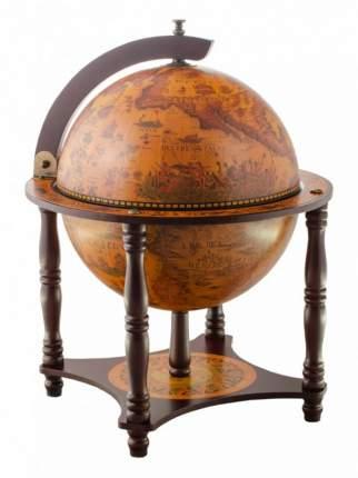 Глобус-бар настольный Ptolemaeus d=33 см, 42х57 см