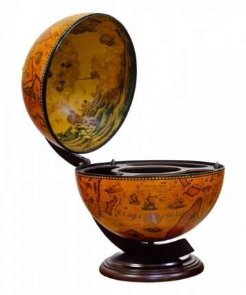 Глобус-бар настольный на ножках Ptolemaeus d=42 см, 46х56 см