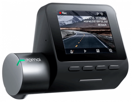 Видеорегистратор 70MAI Dash Cam Pro Plus+,  черный