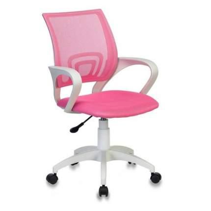 Кресло БЮРОКРАТ CH W696, на колесиках, сетка/ткань, розовый [ch w696 pink]