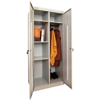 Шкаф металлический хозяйственный ШМ-У 22-800, 1850х800х500 мм