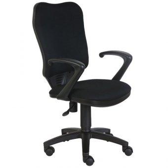 Кресло оператора Бюрократ CH-540AXSN/26-28 ткань черная