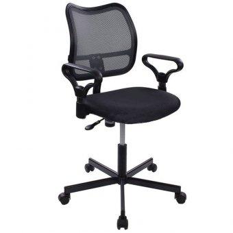 Кресло оператора Бюрократ CH-799M/DG/TW-12 спинка сетка темно-серая, сиденье ткань серая