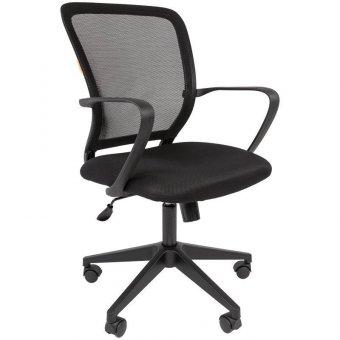Кресло оператора Chairman 698, ткань TW черная/сетка