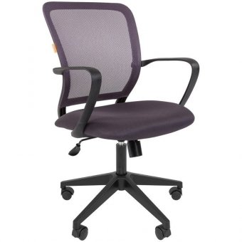 Кресло оператора Chairman 698, ткань TW серая