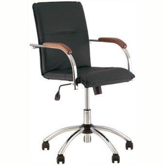 Кресло оператора Nowy Styl Samba GTP, CH кожзам черный