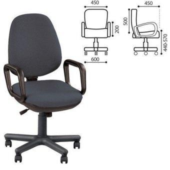 Кресло оператора Comfort GTP JP-1, серое