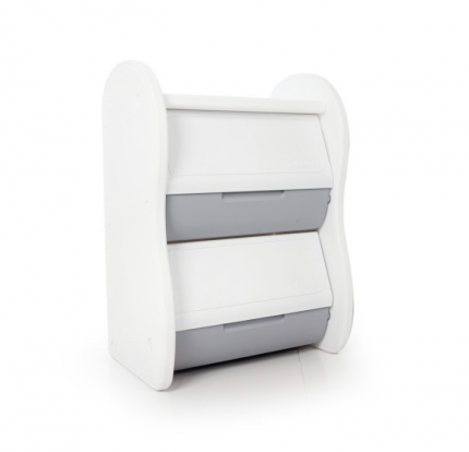 Стеллаж для игрушек iFam ELEPHANT-1 серый