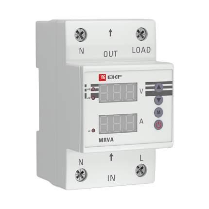 Реле напряжения и тока с дисплеем MRVA 63A EKF PROxima