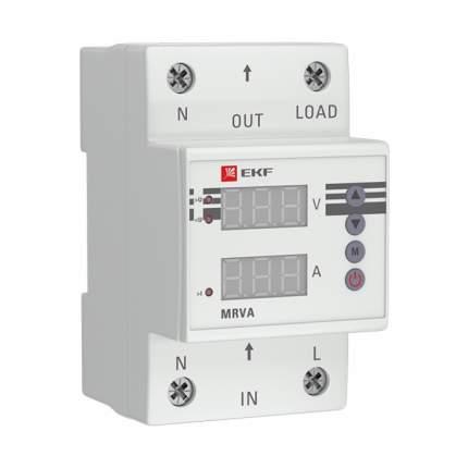 Реле напряжения и тока с дисплеем MRVA 50A EKF PROxima