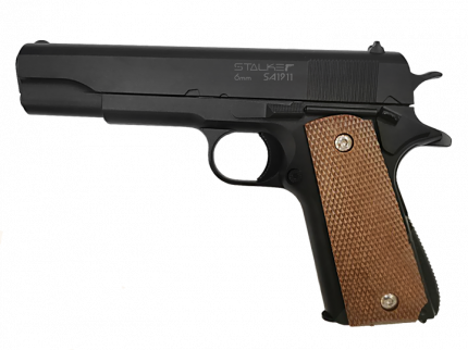 Пистолет пневматический Stalker SA1911 Spring аналог Colt1911, к.6мм SA-130711911  Stalker