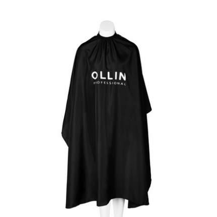 Накидка Ollin Professional Пеньюар для окрашивания на крючках черный 160х145 мл, 1 шт