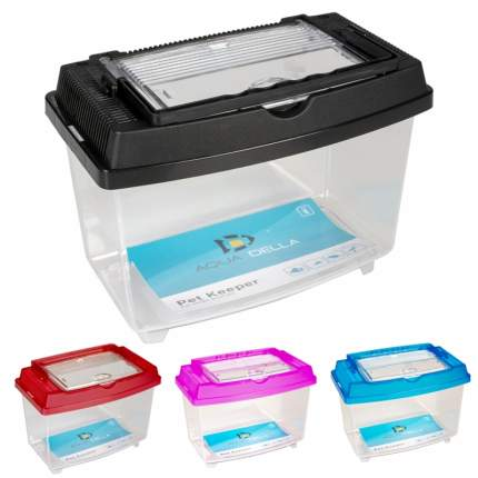 Контейнер для рыб, для улиток, для рептилий AQUA DELLA PET KEEPER, пластик, 26x16x16см