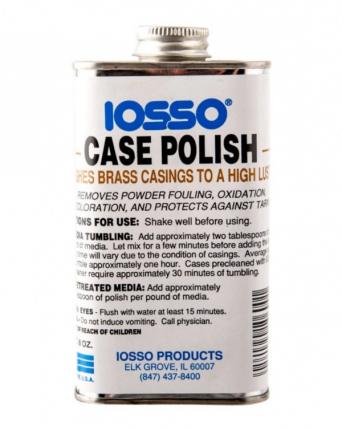 Iosso Case Polish средство для полировки латунных гильз 240мл 10600 Полироль  Iosso