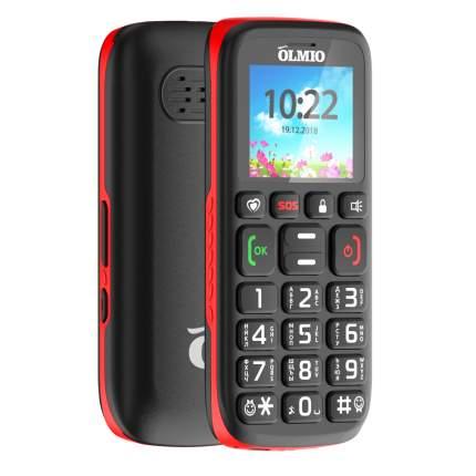 Мобильный телефон Olmio C17, для пожилых людей