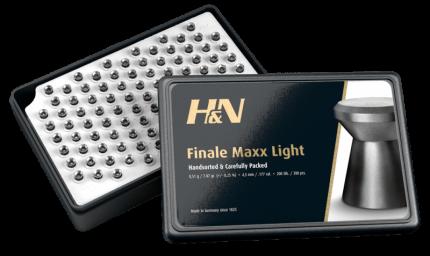 Пульки HN Final Maxx Light 4,5 мм (200 шт) PB422 Пульки  HN