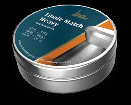 Пульки HN Finale match винтовочные 4,5 мм (4,49) (500 шт) PB335   HN
