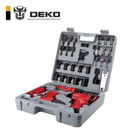 Набор пневмоинструмента 34 предмета Premium DEKO 018-0908