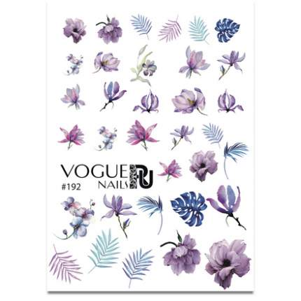 Слайдер-дизайн Vogue Nails №192