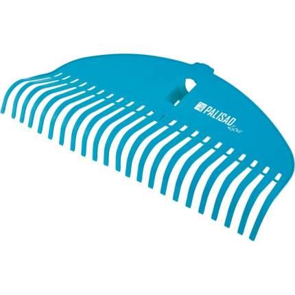 """Грабли веерные """"Palisad"""", пластиковые, 485 мм, 23 плоских зуба, усиленные"""