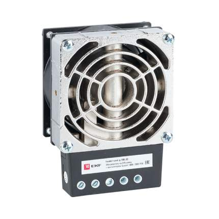 Обогреватель на DIN-рейку с вентилятором 150Вт 230В IP20 Quadro EKF PROxima