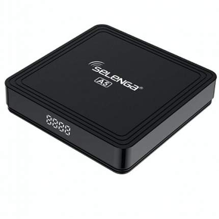 Смарт-приставка Selenga A5 4/32GB Black