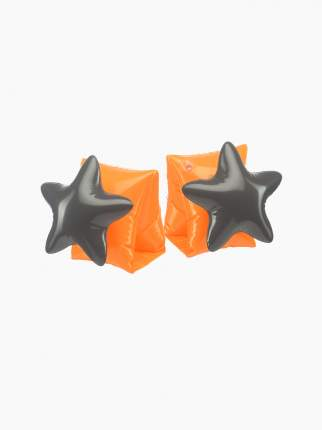 Нарукавники для плавания (orange&black) Happy Baby оранжевый, черный