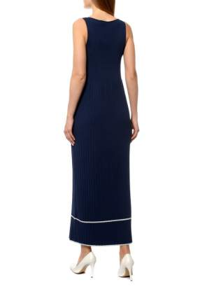 Платье женское Cruciani CD21.313 синее 40 IT