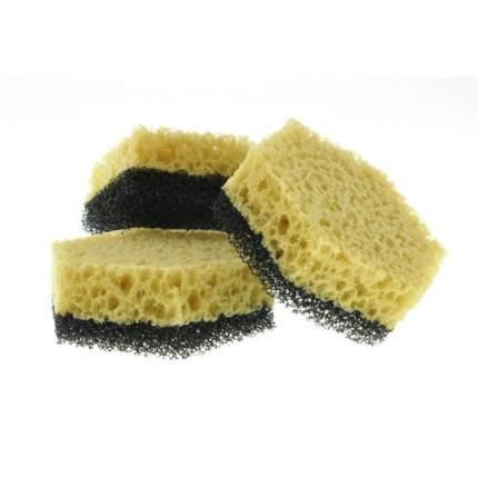 Губки для посуды Teflonчик в вакуумной упаковке (3шт) (-: 1  )
