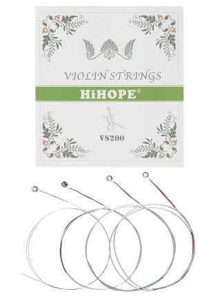 Струны для скрипки HIHOPE VS-200 размер 4/4 - 3/4 из массива