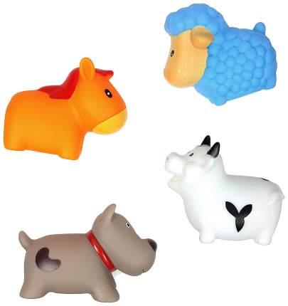 Игровой набор для ванной ЯиГрушка Сельские животные 4 шт
