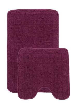 Набор ковриков для ванной комнаты Kamalak tekstil УКВ-10108