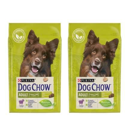 Сухой корм для собак Dog Chow, ягненок, 2шт, 2.5кг