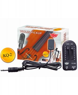 Звукосниматель (пьезодатчик) GH KQ-2 для скрипки, гитары или укулеле