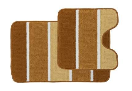 Набор ковриков для ванной комнаты Kamalak tekstil УКВ-10100