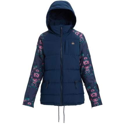 Куртка Burton W Keelan Jk, XS INT, Dress Blue/Dres Blue Stylus