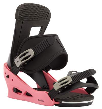 Сноуборд Крепления Burton 2020-21 Freestyle Pink/Black (Us:l)