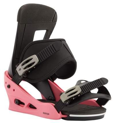 Сноуборд Крепления Burton 2020-21 Freestyle Pink/Black (Us:m)