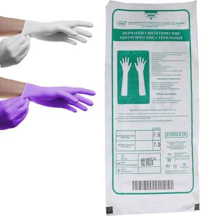 Перчатки стерильные НИТРИЛОВЫЕ с индикацией прокола 2 пары в 1 конверте SFM 7,0 M