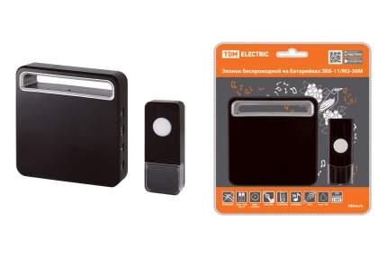 Звонок беспроводной на батарейках TDM ELECTRIC ЗББ-11/М3-36М SQ1901-0031