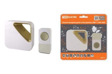 Звонок беспроводной на батарейках TDM ELECTRIC ЗББ-11/М4-36М SQ1901-0032
